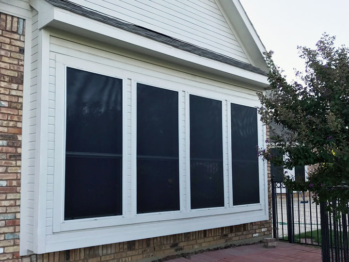 Windows Solar Screen Gallery Dfw Siding And Patio